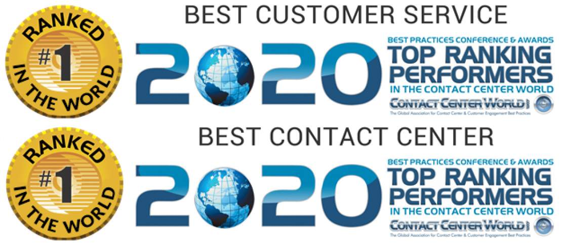 VeriCall named Best in The World with two GOLD awards in the Global Top Ranking Performers Ceremony from Contact Centre World