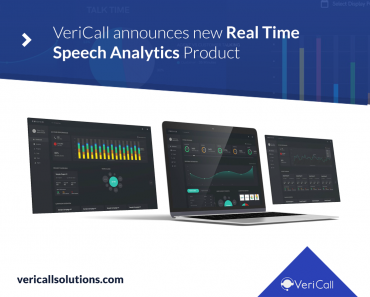 VeriCall announces new Real Time Speech Analytics Product